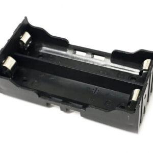 2X batteriholder til lodning