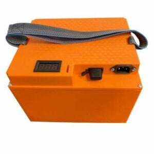 Batteripakke kasse orange