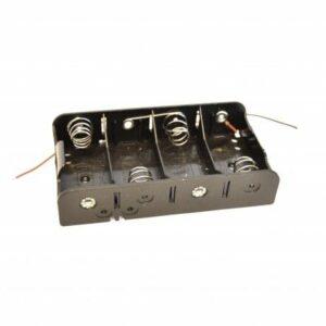 6v AA batteriholder