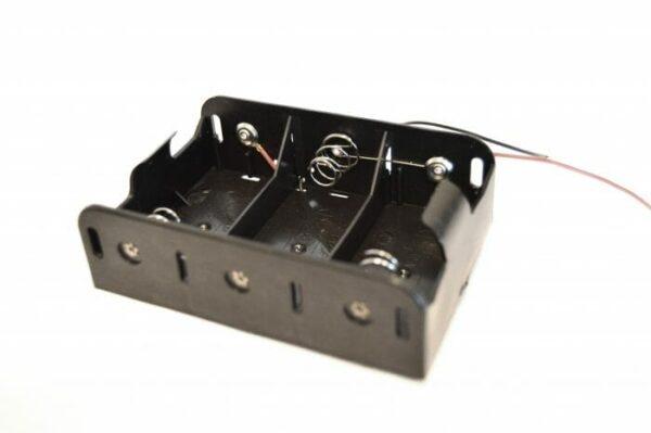 4,5V D batteriholder