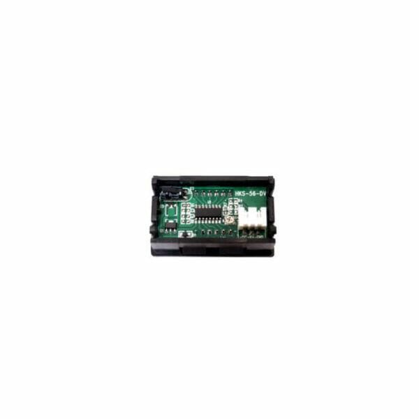 Voltmeter til batteripakke 0-100V
