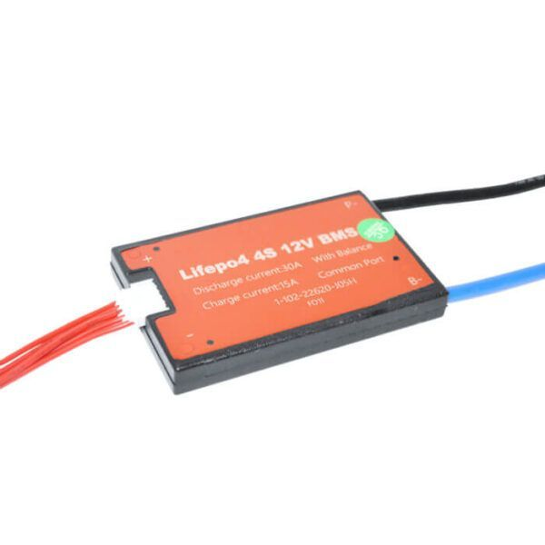 BMS 4S 30A PCB til LTO/LiFePO4 12V common port