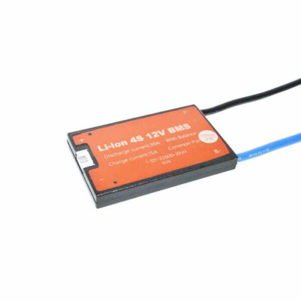 BMS 4S 30A PCB til Li-ion/Li-Po 14,8V common port