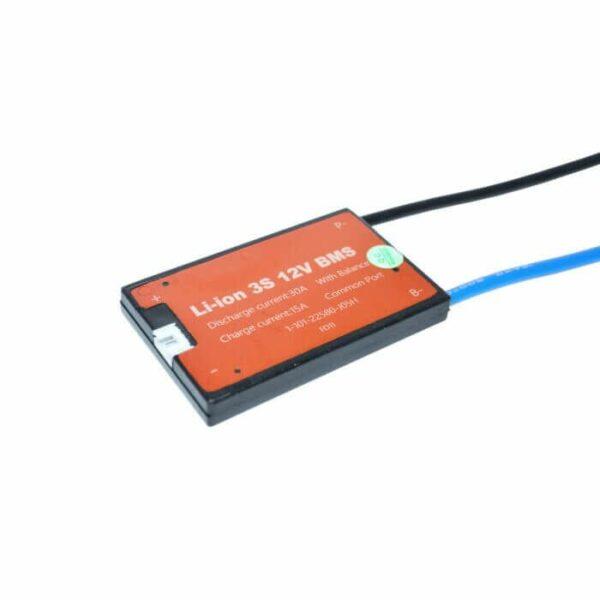 BMS 3S 30A PCB til Li-ion/Li-Po 11,1V common port