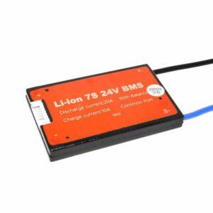 BMS 7S 20A PCB til Li-ion/Li-Po 25,9V common port