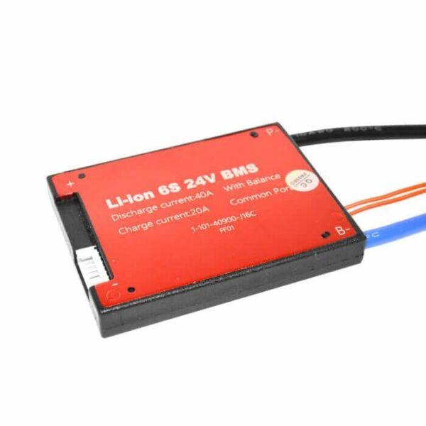 BMS 6S 40A PCB til Li-ion/Li-Po 22,2V m/ tænd/sluk