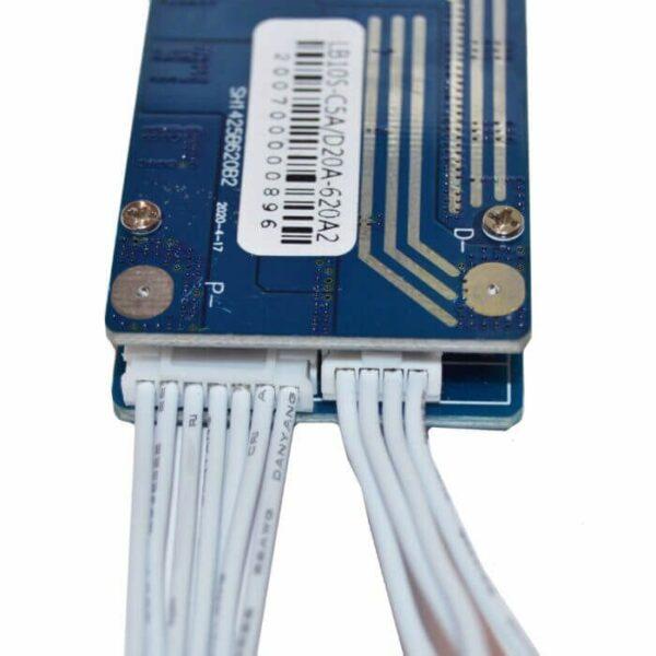 BMS 10S 15A balance ledninger
