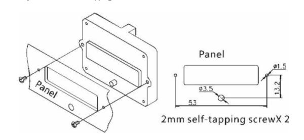 Intelligent batteri indikator EJ-FG05 8-90V 50A