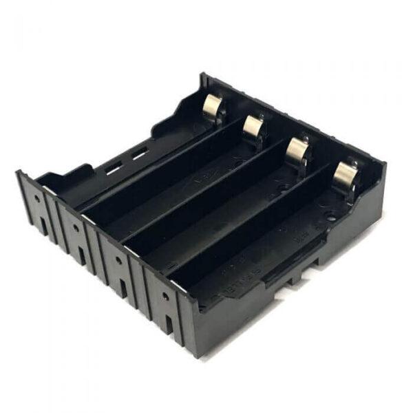 Batteriholder til lodning 4X